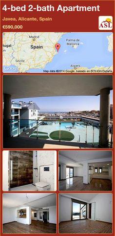 4-bed 2-bath Apartment in Javea, Alicante, Spain ►€590,000 #PropertyForSaleInSpain