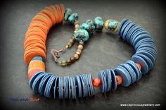 Mixed media jewellery - Caprilicious Jewellery