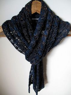Feather & Fan Scarf | Flickr - Photo Sharing!