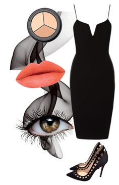 """Untitled #540"" by deima-835 ❤ liked on Polyvore featuring Gianvito Rossi and H&M"