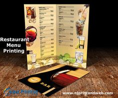 Shop #Restaurant #Menu #Printing in New York,  U.S. Right Now http://www.njprintandweb.com/printing/restaurant-menu-printing/