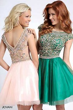 Cute Fit and Flare Homecoming Dress 94228