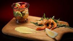 Luke and Scott's Zesty Prawn Salad from season 4 of My Kitchen Rules: http://gustotv.com/recipes/lunch/zesty-prawn-salad/