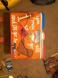Ideas for painting my cooler