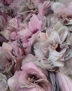 """397 Likes, 15 Comments - Marianne Eriksen Scott-Hansen (@marianneeriksenscotthansen) on Instagram: """"A cherryblossom evening at the studio.. Getting there.. #paperflower #botanicalart…"""""""