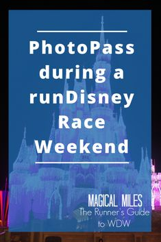 PhotoPass During a runDisney Race Weekend - The Runner's Guide to WDW & Beyond Marathon Tips, Half Marathon Training, Marathon Running, Disney World Marathon, Disneyland Half Marathon, Running Humor, Running Tips, Running Songs, Disney Races