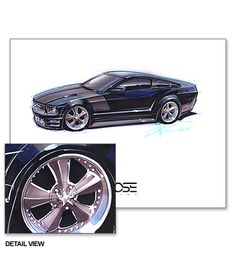 Chip Foose Drawings   chip foose overhaulin drawings image search results