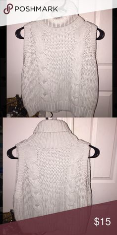Kendall & Kylie sleeveless turtle neck! very cute & never worn. NWOT PacSun Sweaters Cowl & Turtlenecks