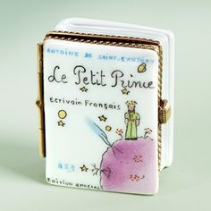 "Limoges ""The Little Prince"" book box"
