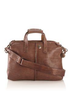 70% OFF Will Leather Goods Men's Whitman Vintage Wash Dual Detatchable Bag Set (Brown)