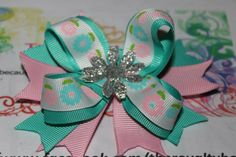 Flower stacked bow