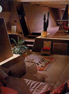 Vaporwave Room: Strutin Residence - Interior 02 by kelviin, via Fl...