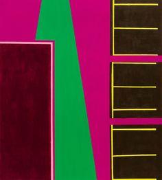 'Via Mala' (2013) ~ 36in ~ 40in ~ acrylic on canvas ~ Chris Billington