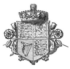 Create Free Coat of Arms   British Coat of Arms   Antique Design Illustrations Royalty Free Stock ...