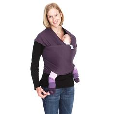 Moby Wrap Baby Carrier - Organic Eggplant - Diaper Bag Accessories at Hayneedle Organic Baby, Organic Cotton, Simply Organic, Moby Wrap, Ergonomic Baby Carrier, Baby Carrying, Baby Wrap Carrier, Skin To Skin, Eggplant Purple