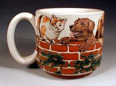 Wall Mug by Nan Hamilton