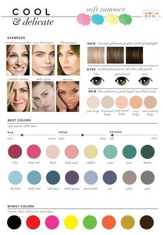 8753e51ac1e Psychology   Best  amp  Worst Colors for Winter Seasonal Color Analysis  Hijab Style