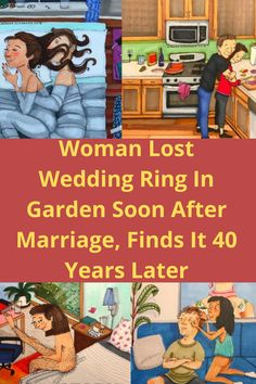 When you lose something that's dear to you, it can really break your heart. The mystery of where that beloved item went always seems to linger on your mind… An English woman named Paula Walter lost one of the most important pieces of jewelry she could ever own. Her wedding ring.