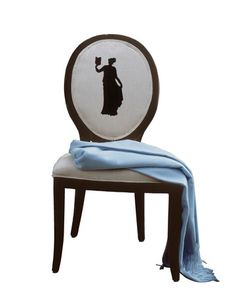THIS WOULD BE GORGEOUS!  Imagine Audrey and Marilyn! Silhouettes as Decor - Silhouette Art - Country Living