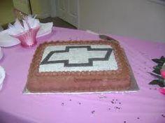Chevrolet grooms cake