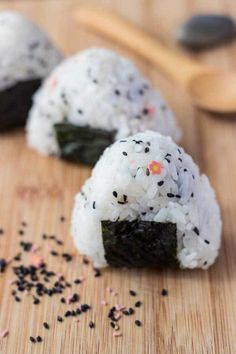 Simple Onigiri (Japanese Rice Ball Snack) - Heres a deliciously #hashtag