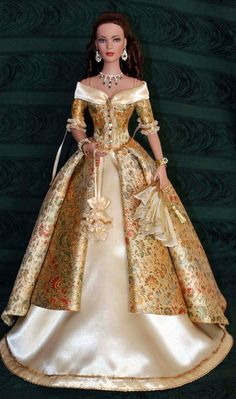 Средневековые наряды для кукол. – 81 photos   VK