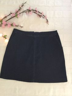 be3a04519628 My Oasis denim skirt by Oasis. Size XL / 14 for £7.50: https. Vinted
