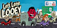 Left Lane Looey Road Rage Race v1.2.44 apk  Requirements:Android 2.2+  Overview:10,000 FREE COINS with PAID version of Left Lane Looey