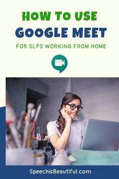 Tip for SLPs and special ed teachers transitioning to working from home - If your employer uses the G-suite tools, they may be transitioning to Google Meet for IEP meetings (and quite possibly speech therapy). In this video, I cover all of the features of Google Meet, how to use the Google Meet App, and some info on HIPAA compliance. - Speech is Beautiful #GoogleMeet #IEPMeeting #IEP #WorkfromHome #SLPeeps #WorkfromHomeTips