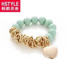 mint green and gold beaded bracelet I Love Jewelry, Jewelry Design, Jewelry Making, Handmade Bracelets, Handmade Jewelry, Beaded Jewelry, Jewelry Bracelets, Bijoux Diy, Pearl Bracelet