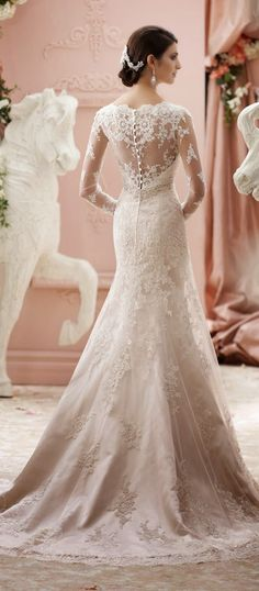 Best Wedding Dresses of 2014 ~ David Tutera for Mon Cheri | bellethemagazine.com