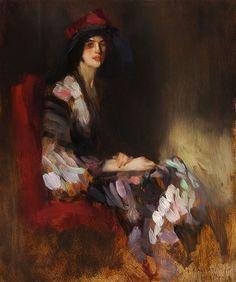 Wunderbar AMBROGIO ANTONIO ALCIATI 1878 1929 Elegant Lady, Master Art, Woman  Painting, Art