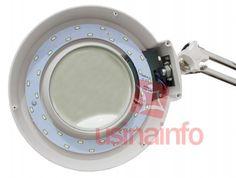 Lupa de Bancada com Iluminação LED e Zoom de 10X - Magnifier XB-86AY (Bivolt)
