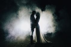 Eclectic Smoke Bomb Wedding Inspiration // Laura Goldenberger Photography