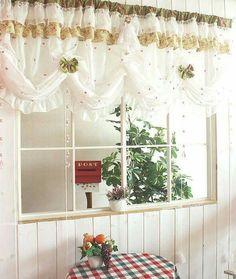 24 mejores imágenes de cortinas para cocina   Window treatments ...