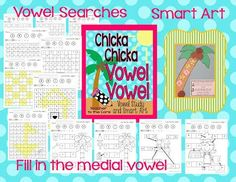 This unit is perfect for teaching or reviewing vowels in CVC words. It meets the new Common Core Reading Foundation Skills criteria. The Smart Art and FUN vowels search pages will help your students rock the the Common Core!Included Are:3 Mystery Picture Vowel Searches (thumbnail 2) ~House ~Boat, ~Checker Board Each has a kinder edition with less letters Answer keys are provided.4 Vowel Searches in Context. from Teacher To The Core @Teacher to the Core