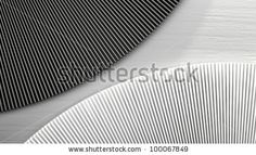 black and white shapes on Shutterstock