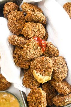 red lentil veggie nuggets #vegan