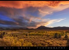 Matt Grans Photography posted a photo:  I was trying to get to Mono Lake but the traffic was terrible. Lucky thing we made it to this spot! Sierra wave clouds were in abundance and fall colors were at peak.