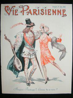La Vie Parisienne, May 1929 (Cover illustration by Chéri Hérouard)