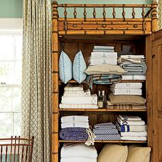 Small Space Organizing Tips | In the Linen Cabinet