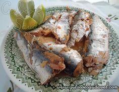 Sardinha na Panela de Pressão » Peixes e Frutos do Mar, Receitas Saudáveis » Guloso e Saudável