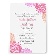 ReviewCustom Floral Wedding Rehearsal Dinner Invitationin each seller & make purchase online for cheap. Choose the best price and best promotion as you thing Secure Checkout you can trust Buy best