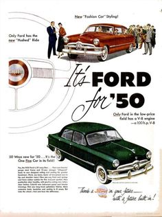 It's Ford for '50