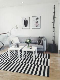 Randig matta från IKEA