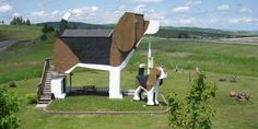 You can stay in this unique B&B built inside a giant beagle