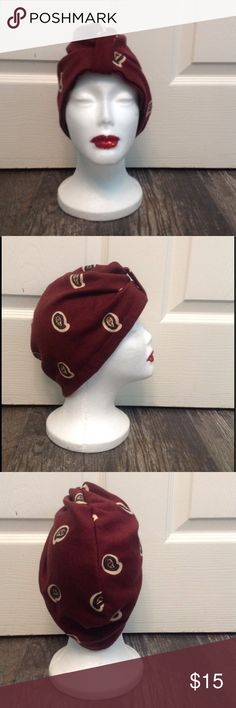 Paisley Turban Choose this turban in an ethnic and bohemian print to add flavour to your accessories collection. The design features a true to style paisley print. Ethnic print turban. Tucked-under detail at the front. Accessories Hats