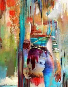 abstract figure painting - Cerca con Google