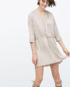 COMBINED TUNIC-Mini-Dresses-WOMAN | ZARA Greece
