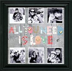 All You Need is Love, by Julie Bonner, using the NoelMignon Book of Love kit.
